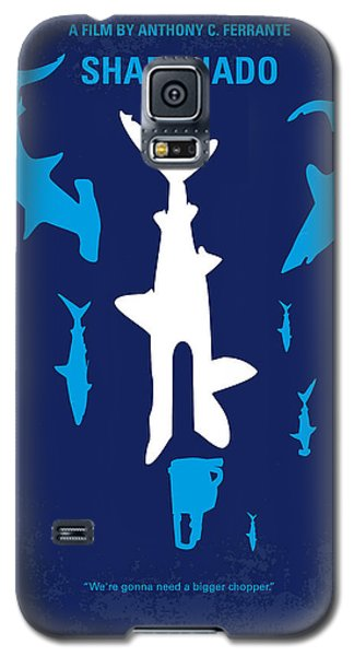 No216 My Sharknado Minimal Movie Poster Galaxy S5 Case