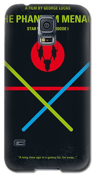 Knight Galaxy S5 Case - No223 My Star Wars Episode I The Phantom Menace Minimal Movie Poster by Chungkong Art