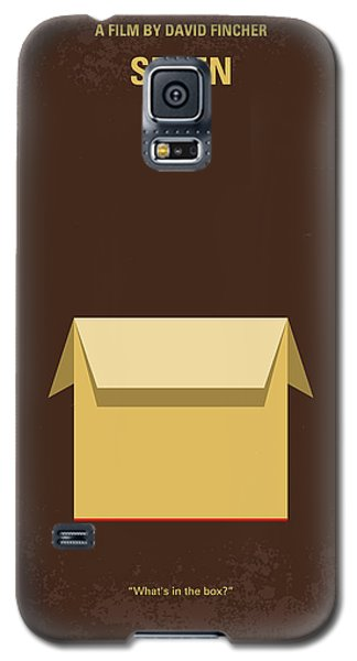 No233 My Seven Minimal Movie Poster Galaxy S5 Case