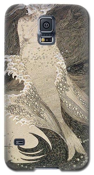 The Mermaid Galaxy S5 Case by Sidney Herbert Sime