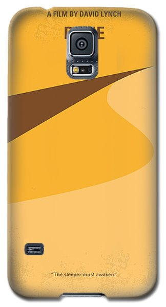 Desert Galaxy S5 Case - No251 My Dune Minimal Movie Poster by Chungkong Art
