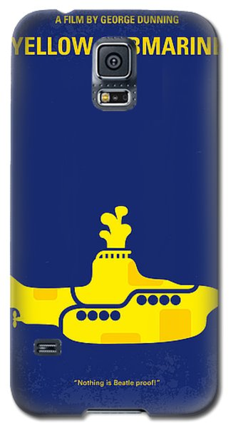 Musicians Galaxy S5 Case - No257 My Yellow Submarine Minimal Movie Poster by Chungkong Art