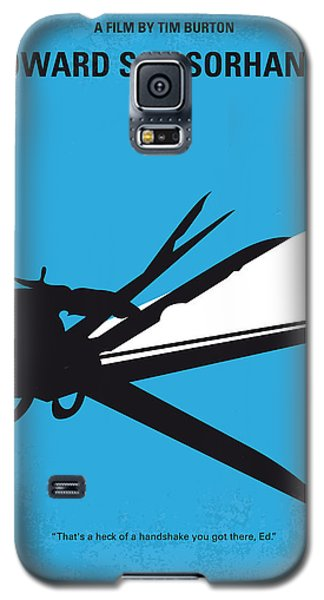 Castle Galaxy S5 Case - No260 My Scissorhands Minimal Movie Poster by Chungkong Art