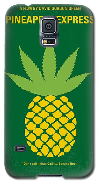 Fruits Galaxy S5 Case - No264 My Pineapple Express Minimal Movie Poster by Chungkong Art