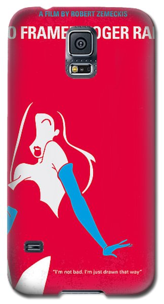 Rabbit Galaxy S5 Case - No271 My Roger Rabbit Minimal Movie Poster by Chungkong Art
