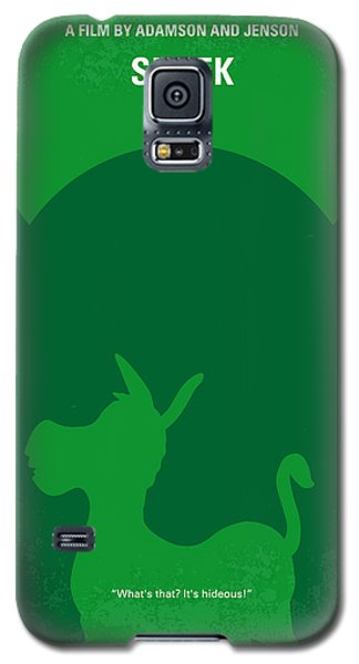 Fairy Galaxy S5 Case - No280 My Shrek Minimal Movie Poster by Chungkong Art