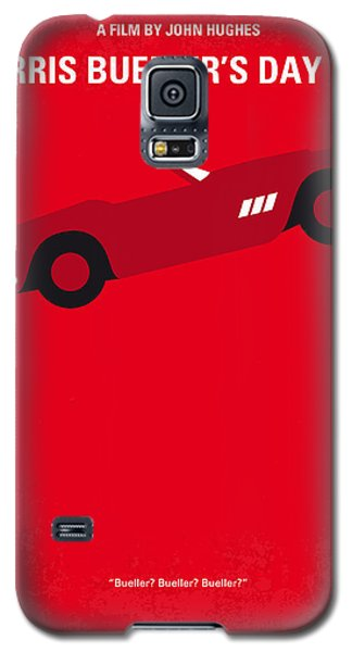 No292 My Ferris Bueller's Day Off Minimal Movie Poster Galaxy S5 Case