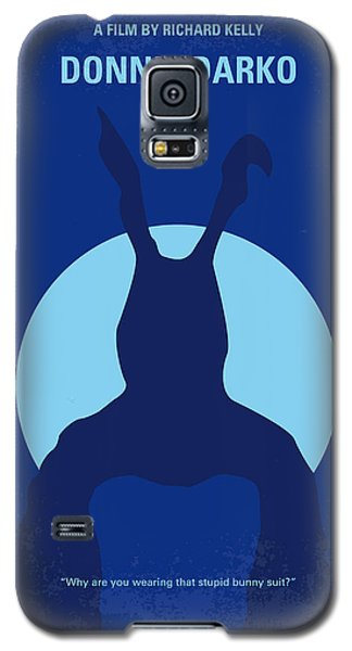Rabbit Galaxy S5 Case - No295 My Donnie Darko Minimal Movie Poster by Chungkong Art