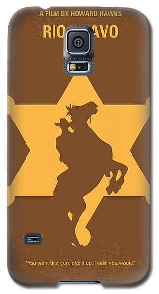 Duke Galaxy S5 Case - No322 My Rio Bravo Minimal Movie Poster by Chungkong Art