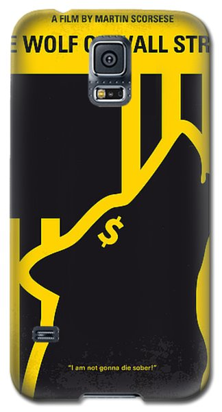No338 My Wolf Of Wallstreet Minimal Movie Poster Galaxy S5 Case