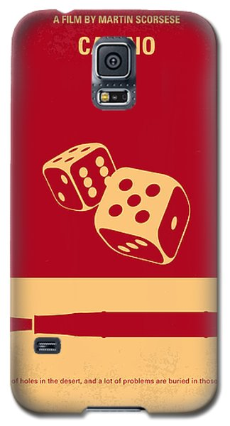No348 My Casino Minimal Movie Poster Galaxy S5 Case