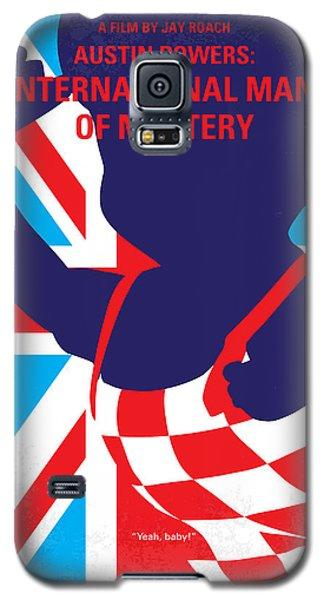 No373 My Austin Powers I Minimal Movie Poster Galaxy S5 Case by Chungkong Art