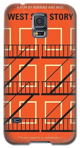 Jet Galaxy S5 Case - No387 My West Side Story Minimal Movie Poster by Chungkong Art