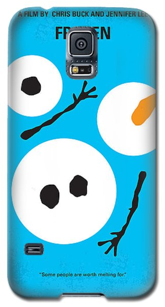 Magician Galaxy S5 Case - No396 My Frozen Minimal Movie Poster by Chungkong Art