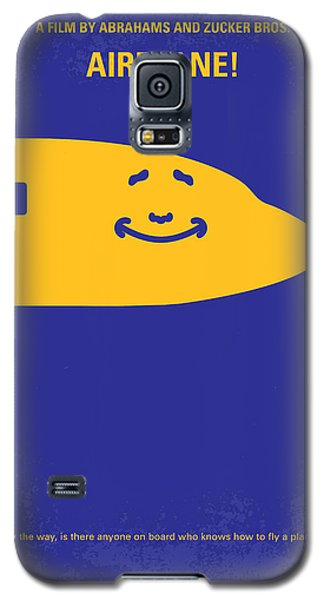 No392 My Airplane Minimal Movie Poster Galaxy S5 Case by Chungkong Art
