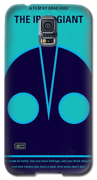 Aliens Galaxy S5 Case - No406 My The Iron Giant Minimal Movie Poster by Chungkong Art