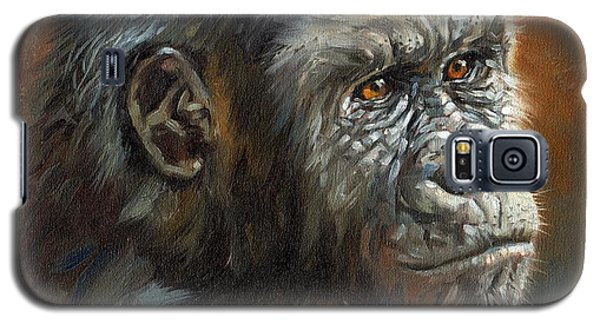 Gorilla Galaxy S5 Case - Noble Ape by David Stribbling