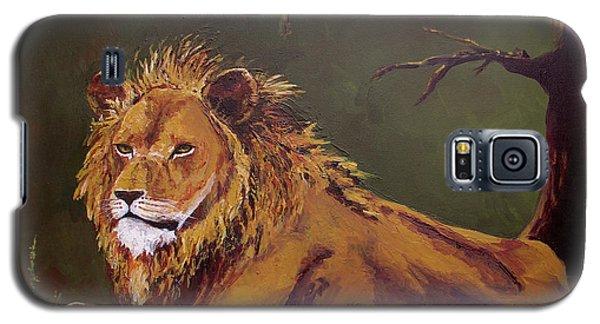 Noble Guardian - Lion Galaxy S5 Case