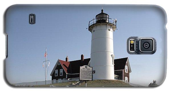Nobska Lighthouse On Cape Cod At Woods Hole Massachusetts Galaxy S5 Case