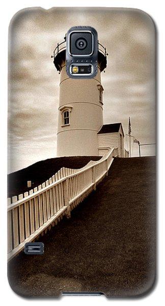Nobska Lighthouse Galaxy S5 Case by Skip Willits