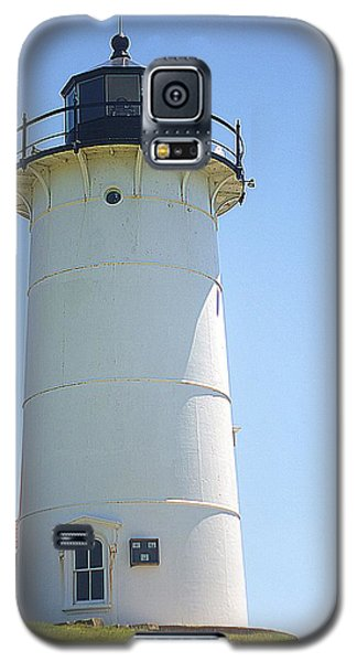 Galaxy S5 Case featuring the photograph Nobska Point Lighthouse Ma by Suzanne Powers