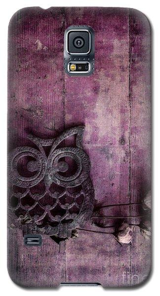Nocturnal In Pink Galaxy S5 Case by Priska Wettstein