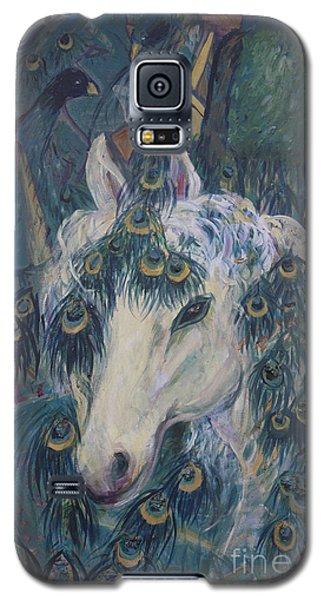 Nola's Unicorn Galaxy S5 Case by Avonelle Kelsey