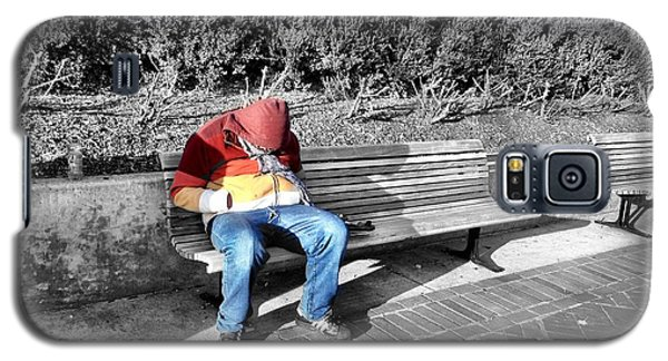 Homeless Man Galaxy S5 Case