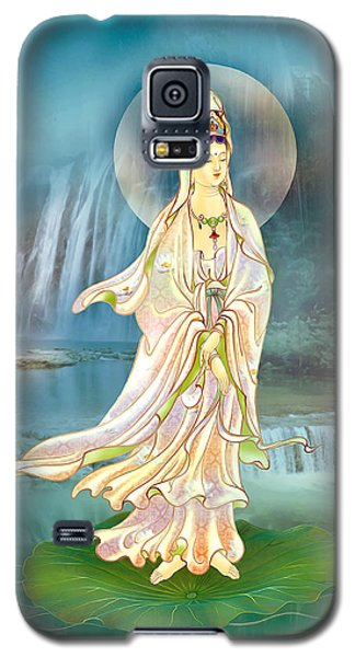 Galaxy S5 Case featuring the photograph Non-dual Kuan Yin by Lanjee Chee