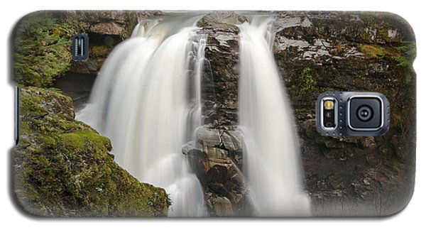 Nooksack Falls Galaxy S5 Case by Crystal Hoeveler