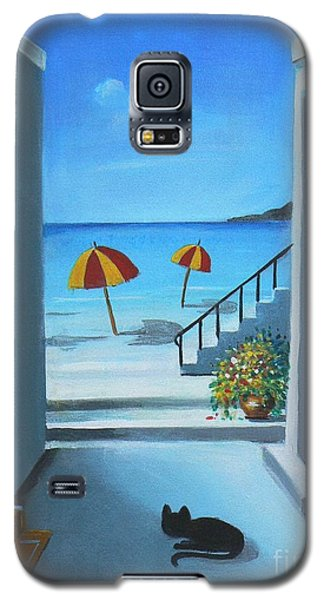 Noon At The Beach Galaxy S5 Case