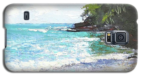 Noosa Heads Main Beach Queensland Australia Galaxy S5 Case by Chris Hobel