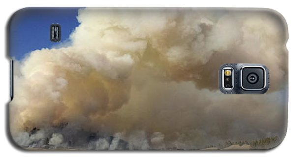 Norbeck Prescribed Fire Smoke Column Galaxy S5 Case