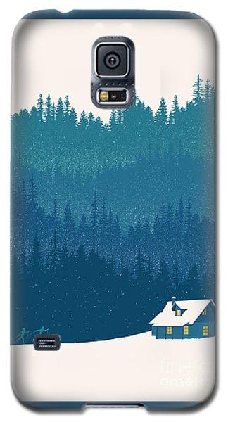 Niagra Falls Galaxy S5 Case - Nordic Ski Scene by Sassan Filsoof