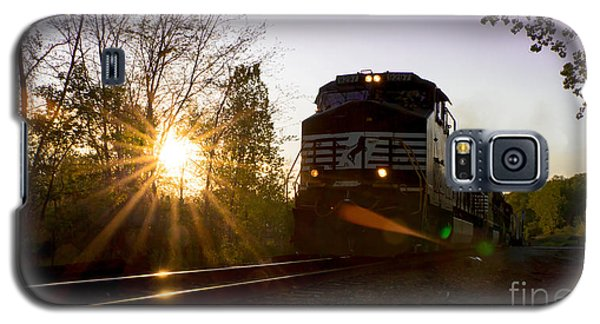 Norfolk And Southern At Sunset Galaxy S5 Case