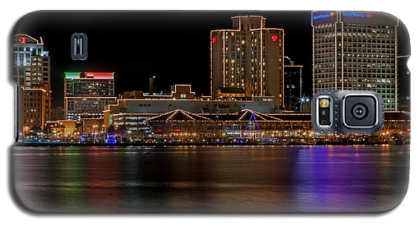 Norfolk Virginia Skyline Galaxy S5 Case