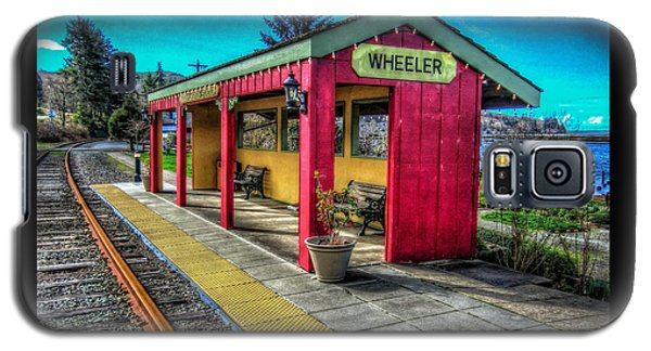 Norm Laknes Train Station Galaxy S5 Case by Thom Zehrfeld