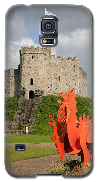 Norman Keep Cardiff Castle Galaxy S5 Case