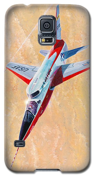North American F-107a Ultra Sabre Galaxy S5 Case