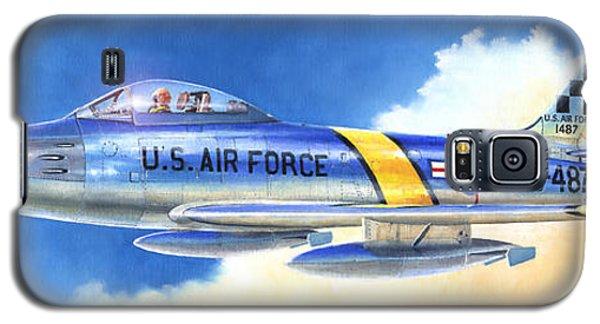 North American F-86f Sabre Galaxy S5 Case