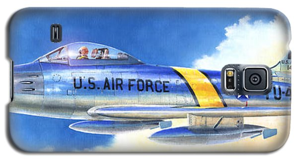 North American F-86f Sabre Galaxy S5 Case