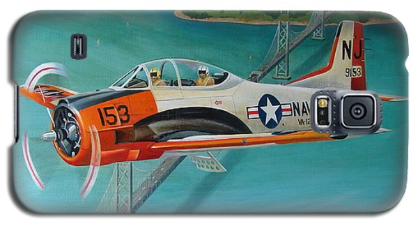 North American T-28 Trainer Galaxy S5 Case by Stuart Swartz