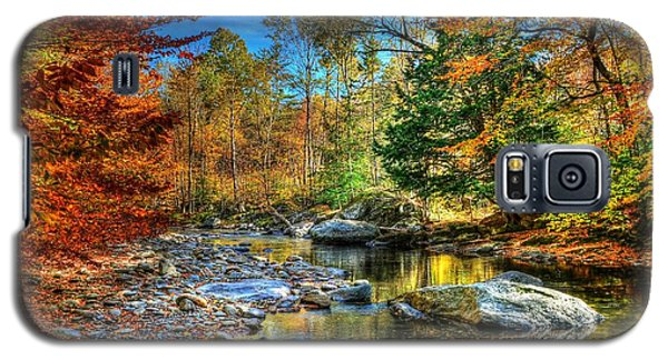North Branch In Fall Galaxy S5 Case