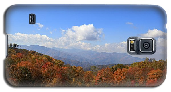 North Carolina Mountains In The Fall Galaxy S5 Case