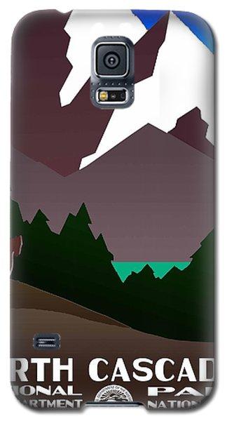 North Cascades National Park Vintage Poster Galaxy S5 Case