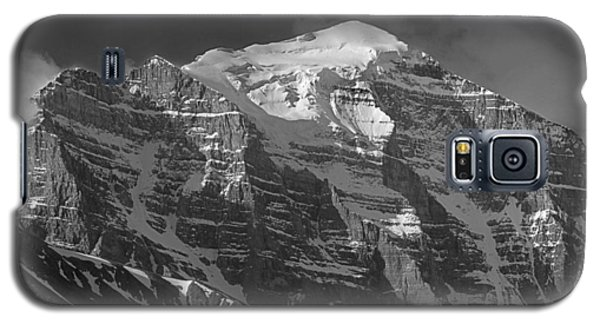 203553-north Face Mt. Temple Bw Galaxy S5 Case