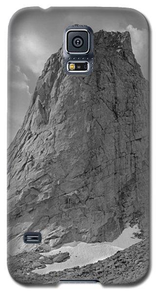 109649-bw-north Face Pingora Peak, Wind Rivers Galaxy S5 Case