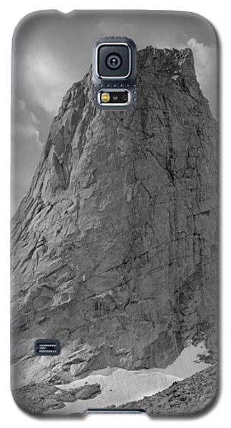 109649-bw-north Face Pingora Peak, Wind Rivers Galaxy S5 Case
