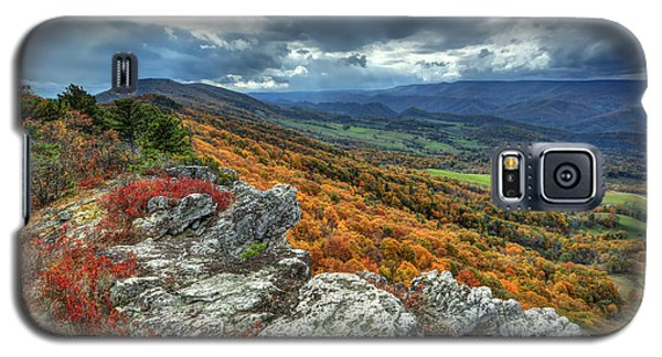 North Fork Mountain Overlook Galaxy S5 Case by Jaki Miller