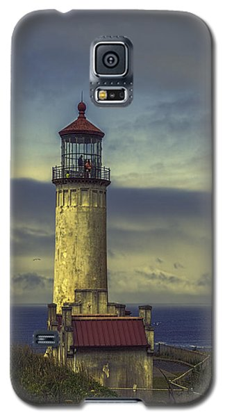 North Head Lighthouse Galaxy S5 Case by Jean OKeeffe Macro Abundance Art